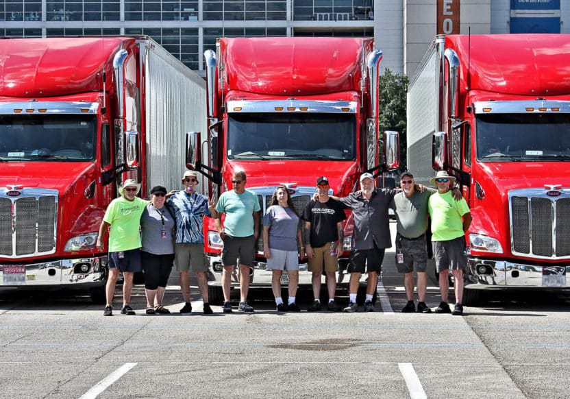Some of our Tour drivers on the Rolling Stones tour